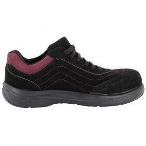 Foxter Chaussures de sécurité Basses Julia - Confort Basket - Légères et respirantes - Femme - S1P SRA 37