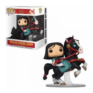 Funko Figurine Disney Mulan - Mulan Riding Khan Pop Rides 15cm