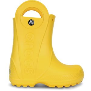 Crocs Handle It,Bottes de Pluie,Mixte enfant,Jaune (Yellow), 22/23 EU