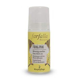 Farfalla Déodorant Roll-On Fleurs Délicates Frangipani - 50 ml