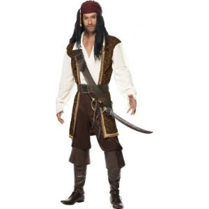 Costume de pirate homme (taille L)