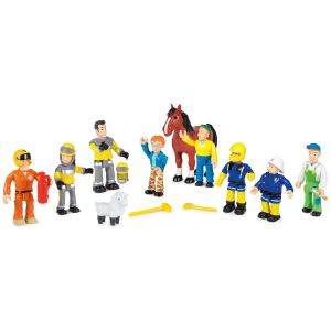 Smoby Coffret 10 figurines Sam le pompier
