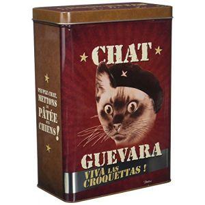 Natives Chat Guevara Boîte à Croquettes pour Chat