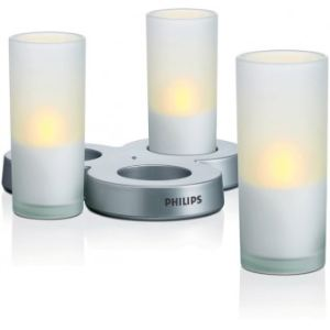 Philips Imageo CandleLights - 3 photophores à LED