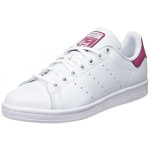 Adidas Stan Smith J, Chaussures de Fitness Mixte Enfant, Blanc (Ftwbla/Ftwbla/Ftwbla 000), 36 2/3 EU