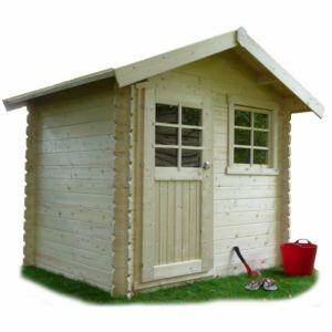 Solid S815 - Abri de jardin Laval en bois 28 mm 3,74 m2