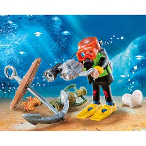 Playmobil 4786 Special Plus - Plongeur avec caméra sous-marine
