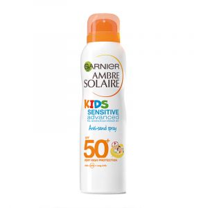 Garnier Ambre Solaire Kids Sensitive Advanced - Brume sèche anti-sable SPF50+