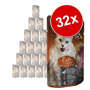 Leonardo Lot Finest Selection 32 x 85 g pour chat - agneau, canneberges