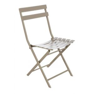 Hesperide Greensboro - Chaise de jardin pliante en métal