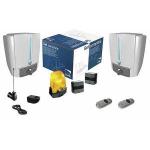 Came 001U1804 - Kit classique Fast40 24V encodeur portail 2 battants 2 émetteurs 868 MHz max 2.3 m