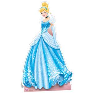 Figurine géante en carton Cendrillon Disney Princesse (176 x 102 cm)