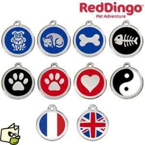 Les animaux de la fée Le Coin Des Animeaux - Médaille Coeur - Couleur : Rouge - Diamètre : 20 mm
