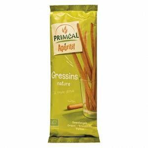 Image de Priméal Gressins huile d%u2019olive 120 g