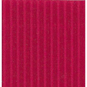 Clairefontaine 95606C - Rouleau de carton ondulé Ondulor Média 300 g/m² 0,70m x 0,50m coloris rouge