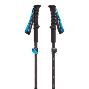 Black Diamond Bâtons de randonnée Black-diamond Distance Carbon Flz - Black / Blue - Taille 110 cm