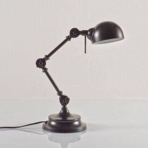 Lampe de bureau, métal, style industriel, Kikan Noir Mat Taille Taille Unique