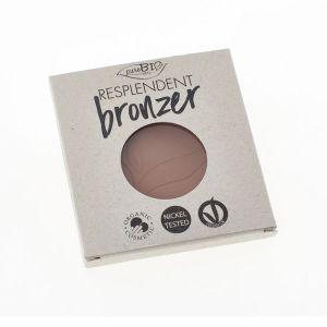 PuroBio Cosmetics Resplendent Bronzer Refill - 05 Caldo- 9 g