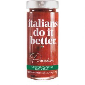 Italians do it better Pomodoro - Tomates de saison et basilic frais