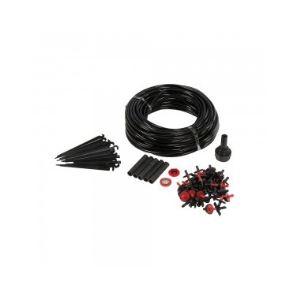 Silverline 592716 - Kit de micro-arrosage 71 pièces