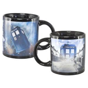 Zeon Ltd Mug Dr Who Heat Reveal en céramique