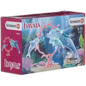 Schleich Figurines Bayaia Maman dauphin et ses petits (41463)