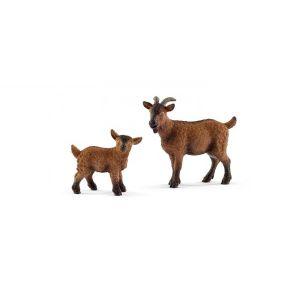 Schleich Figurines animaux de la ferme chevreaux