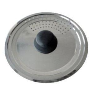 Image de Baumalu Couvercle passoire inox multi degrés (16/18/20 cm)