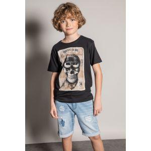 Deeluxe T-shirt enfant CLEM Noir - Taille 8 ans,14 ans