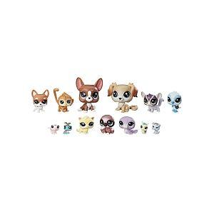 Hasbro Littlest PetShop Multipack de 13 Copains (E1011)