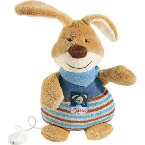 Sigikid Peluche musicale Lapin Semmel Bunny 25 cm