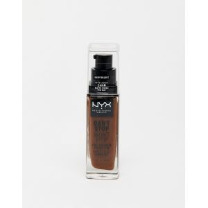 NYX Cosmetics NYX Make-up Can't Stop Won't Stop 24-Hour Foundation 22.3 - Walnut (30ml)