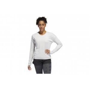 Adidas Sweat Supernova Run Cru Pullover Blanc - Taille L