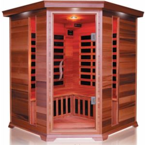 France Sauna Luxe 3/4 - Sauna cabine infrarouge pour 3/4 personnes