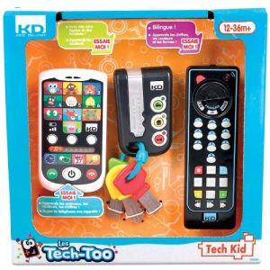 KD Tech Too : Coffret télécommande, clés et smartphone
