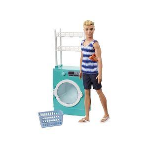 Mattel Poupée Barbie - Ken et Lave-Linge