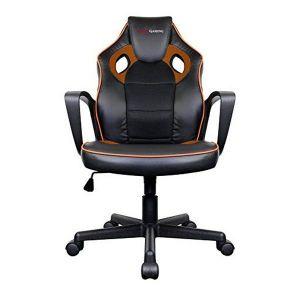 Tacens Chaise de jeu MGC0BO Métal PVC Noir Orange