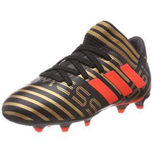 outlet store sale 678fe cc2e8 Adidas Nemeziz Messi 17.3 FG, Chaussures de Football Mixte Enfant, Noir  (Core Black