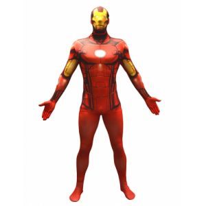 Déguisement Morphsuits Iron Man adulte