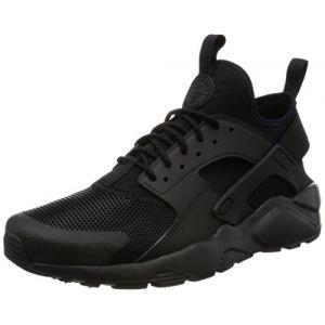 Nike Air Huarache Run Ultra, Chaussures de Running Entrainement Homme, Noir (Noir/Noir - Noir), 45 EU