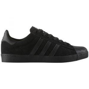 Adidas Superstar Vulc ADV, Chaussures de Skate Homme - Noir - Noir