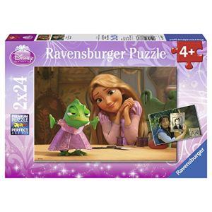 Ravensburger Puzzle Raiponce 2 x 24 pièces