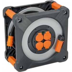 Brennenstuhl Enrouleur de câble cube IP 44 | Longueur (m): 25 - Section (mm²): 3G2.5
