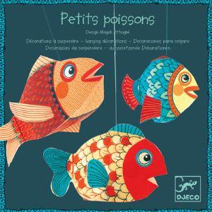 Djeco Mobile en papier : Petits poissons