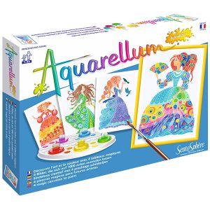 Sentosphère Aquarellum Junior : Princesses Fleurs