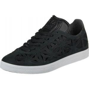 Adidas Gazelle Cutout, Baskets Basses Femme, Noir (Core Black/Core Black/Off White), 39 1/3 EU
