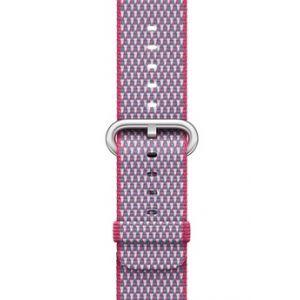 Apple MQVD2ZM/A - Bracelet en nylon tissé quadrillé fruits rouges Watch 38 mm