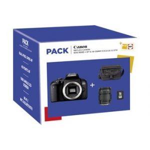 Canon Reflex PACK EOS 800D + 18-135 IS STM + FOURRE-TOUT + SD 16Go
