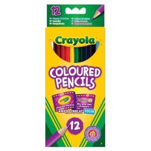 Crayola 12 crayons de couleur