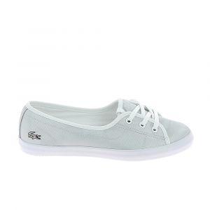 Lacoste Toilebasket mode sneakers ziane chunky 119 gris blanc 39